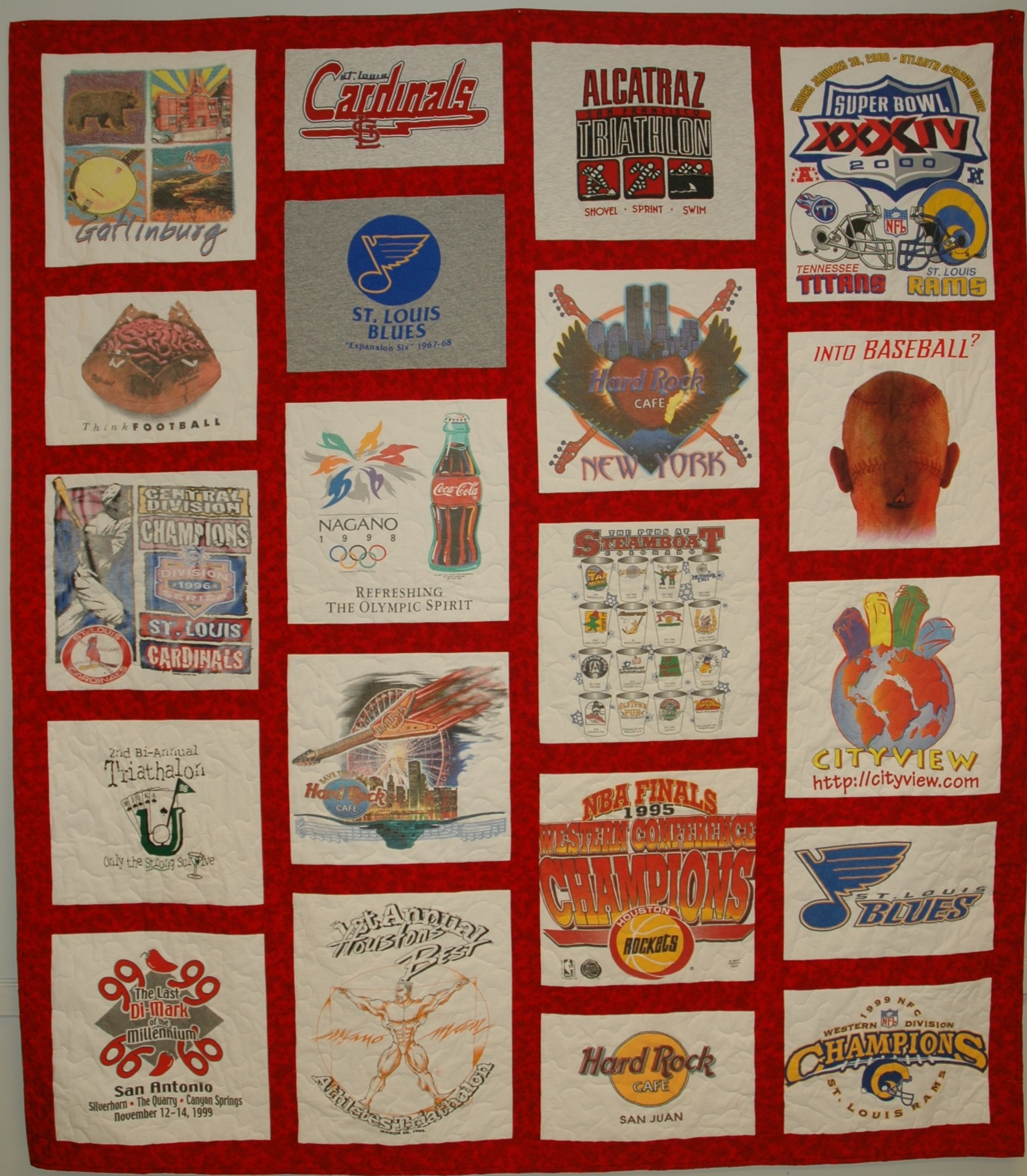 Sew What - Pricing and Quality Variable T-shirt Quilts : t shirt quilt layout - Adamdwight.com